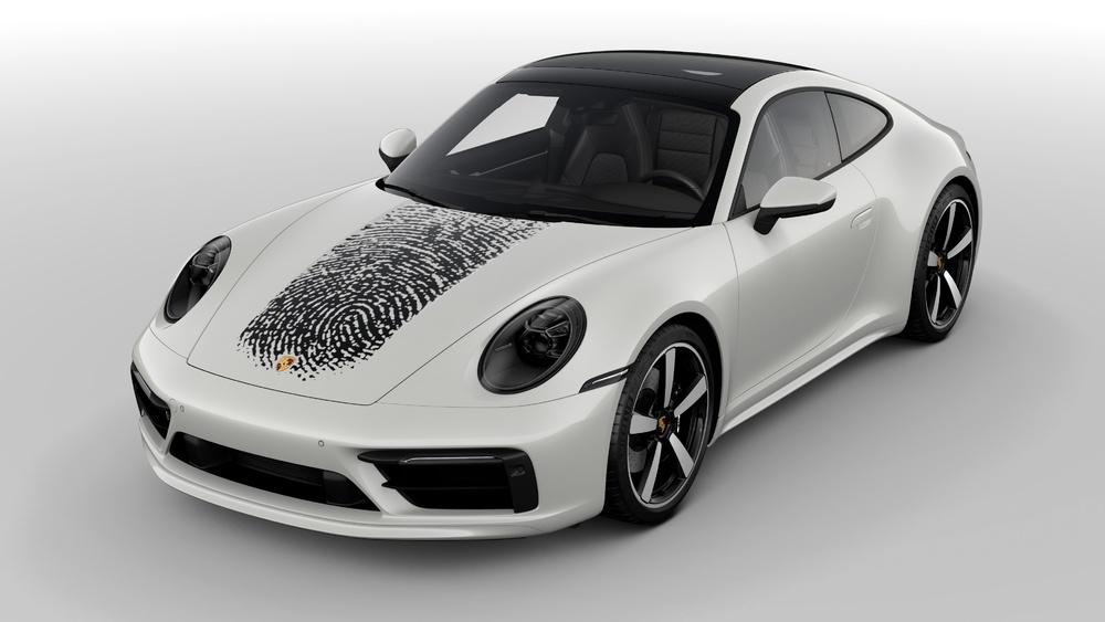 Công nghệ in đột phá trên bề mặt sơn thân xe Porsche - 4