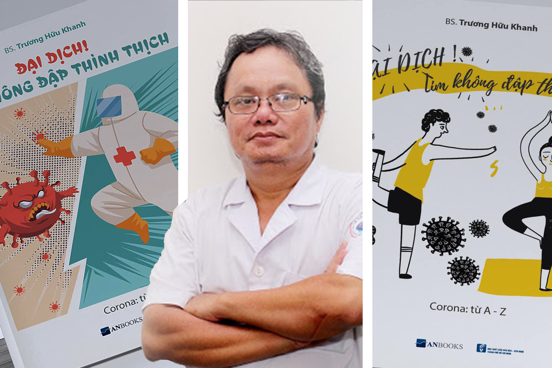 Bác sĩ Trương Hữu Khanh và Anbooks ra mắt cẩm nang tự vệ trước đại dịch COVID-19