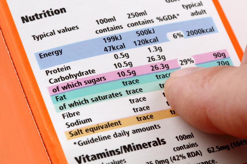Các nhà sản xuất có thể làm bạn hiểu sai thông tin dinh dưỡng