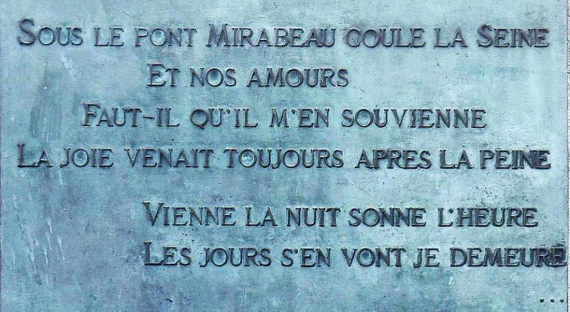Cầu Mirabeau và bài thơ tình của Apollinaire -7