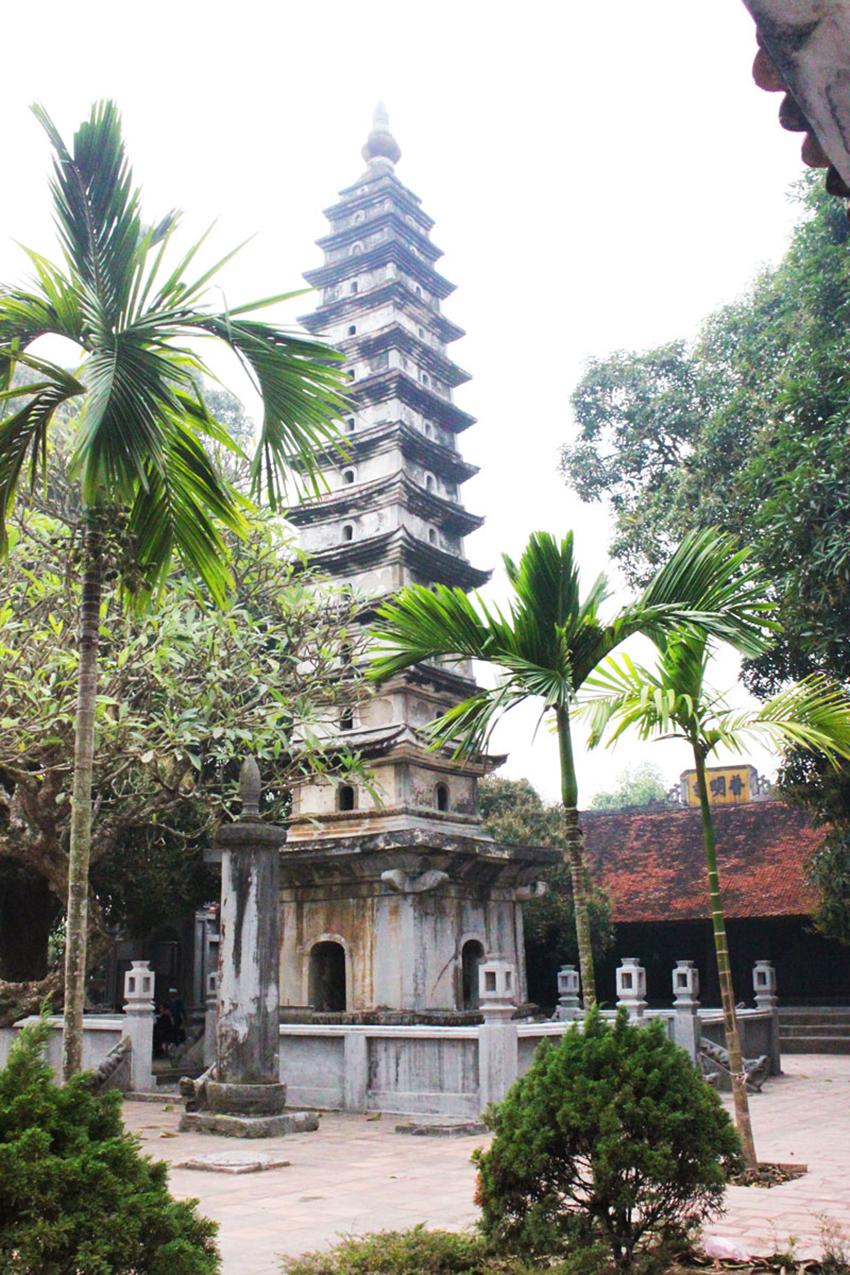 Chùa Phổ Minh - Ngôi chùa có tháp bằng gạch cao nhất ở Việt Nam - 6