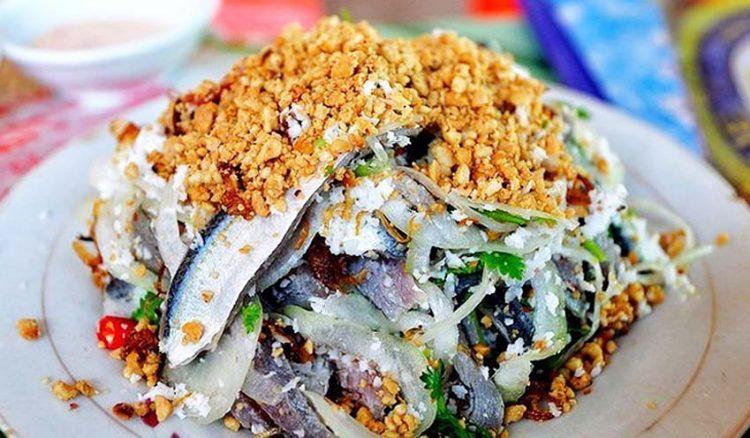 Gỏi cá trích Phú Quốc - Giỏi với trích, nhúc nhích là yêu