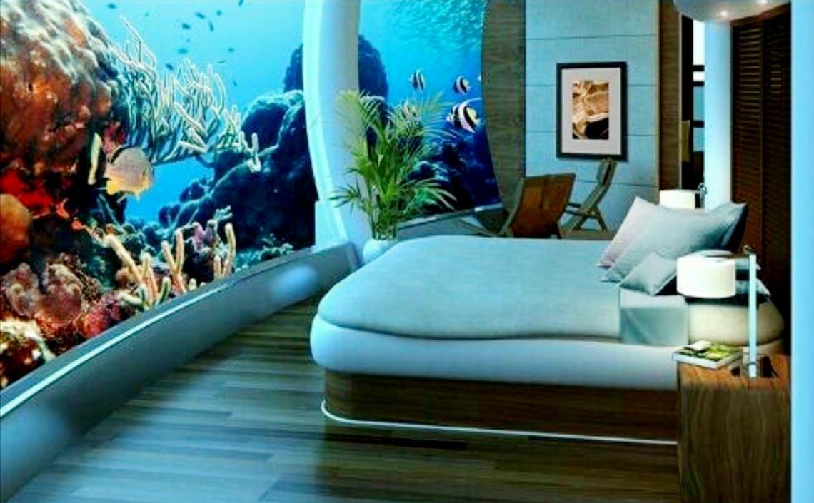 Ngồi trong phòng ngắm cảnh dưới biển -12