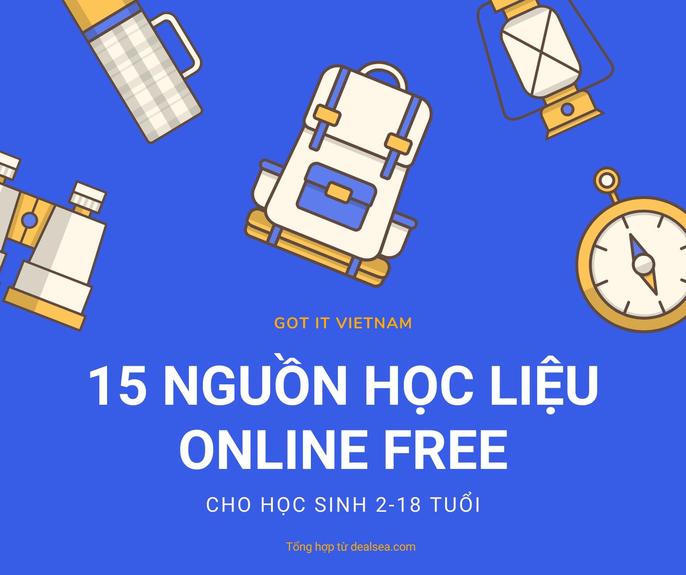15 nguồn học trực tuyến miễn phí cho học sinh từ 2-18 tuổi - 2