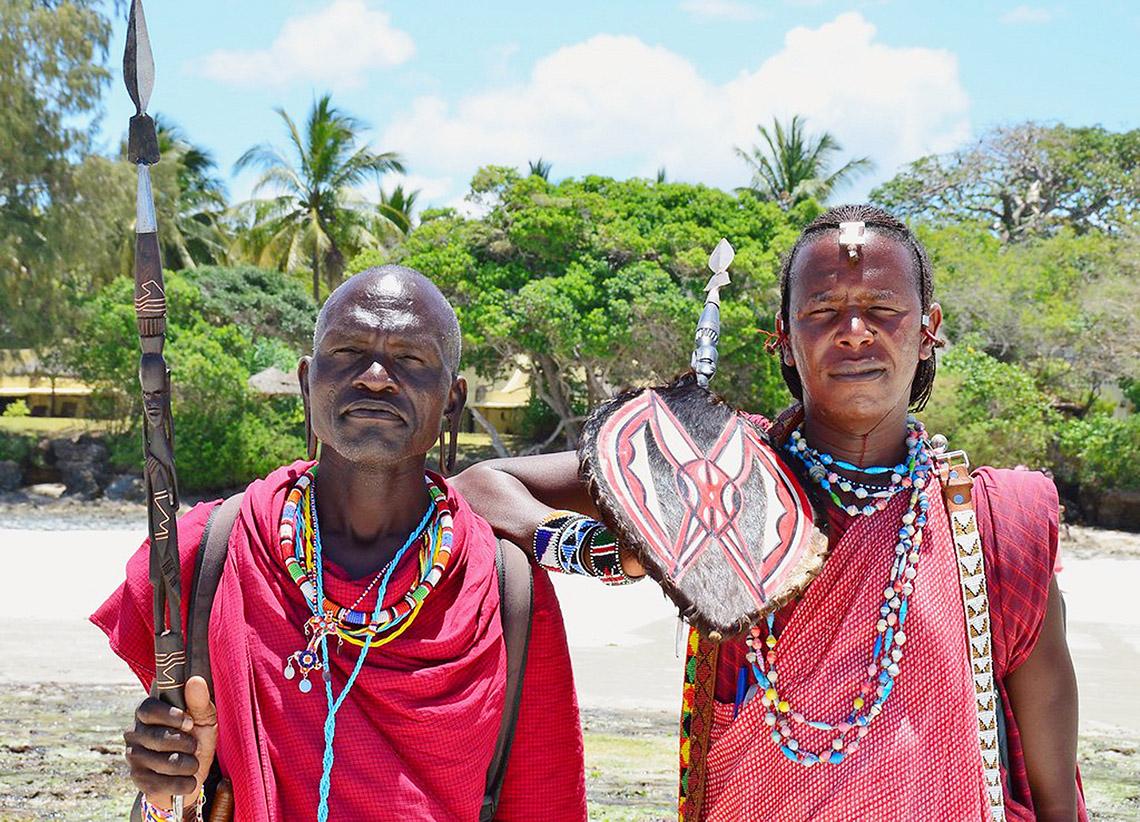 Rực rỡ vòng hạt Maasai -2
