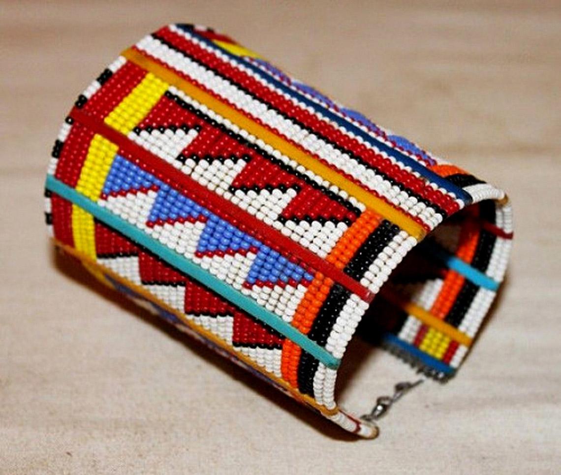 Rực rỡ vòng hạt Maasai -3