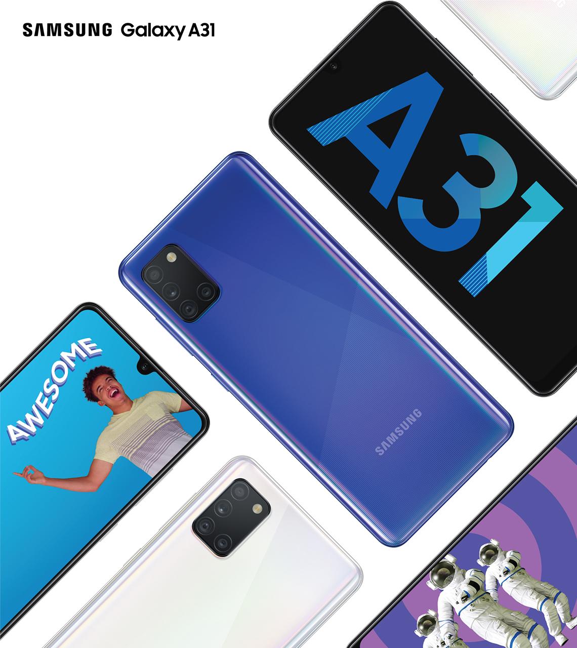 Samsung Galaxy A31 – Camera Macro 5MP và dung lượng pin lớn nhất dòng Galaxy A - 2