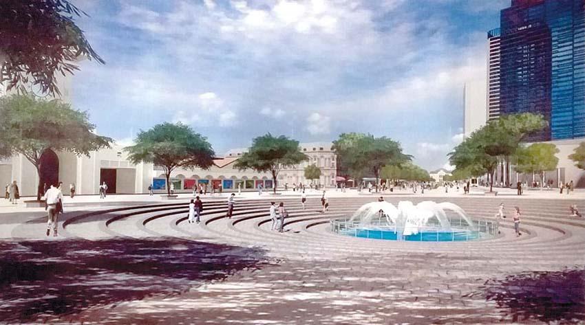 Thi ý tưởng thiết kế khu vực chợ Bến Thành và đại lộ Lê Lợi: Đâu rồi những hạt ngọc di sản -1