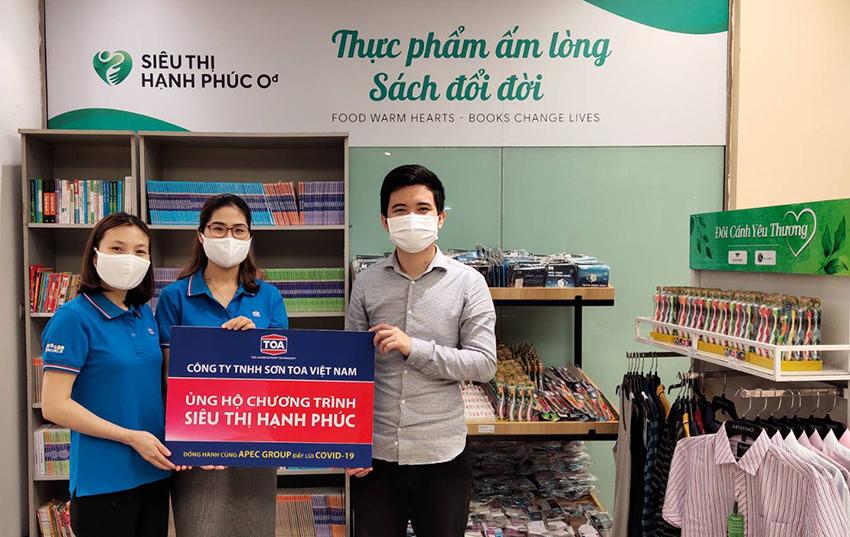 Sơn TOA Việt Nam đồng hành cùng chính phủ đẩy lùi đại dịch Covid-19 - 1