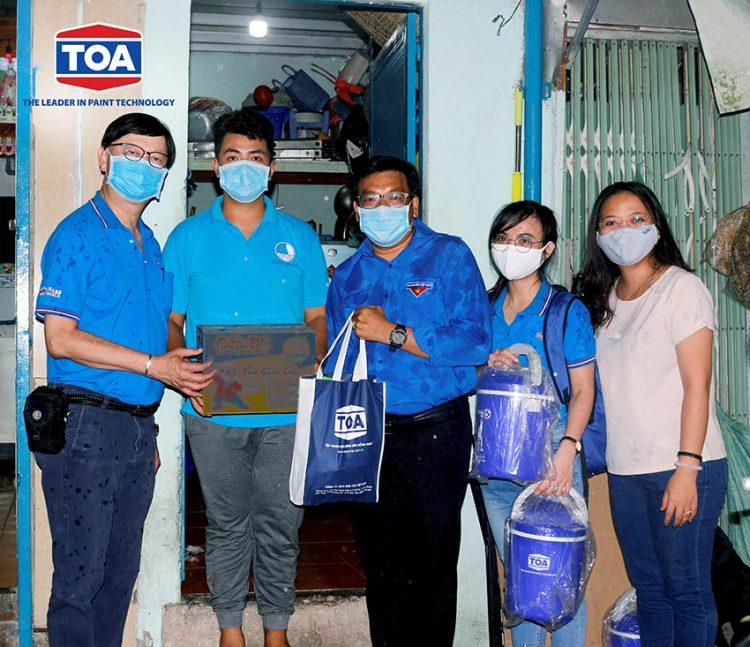 Sơn TOA Việt Nam đồng hành cùng chính phủ đẩy lùi đại dịch Covid-19 - 2
