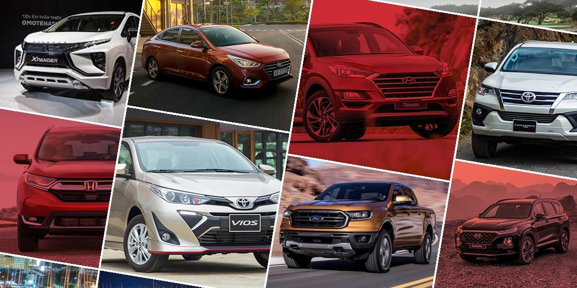 Top xe bán chạy tháng 3/2020: Toyota Vios vẫn dẫn đầu - 1