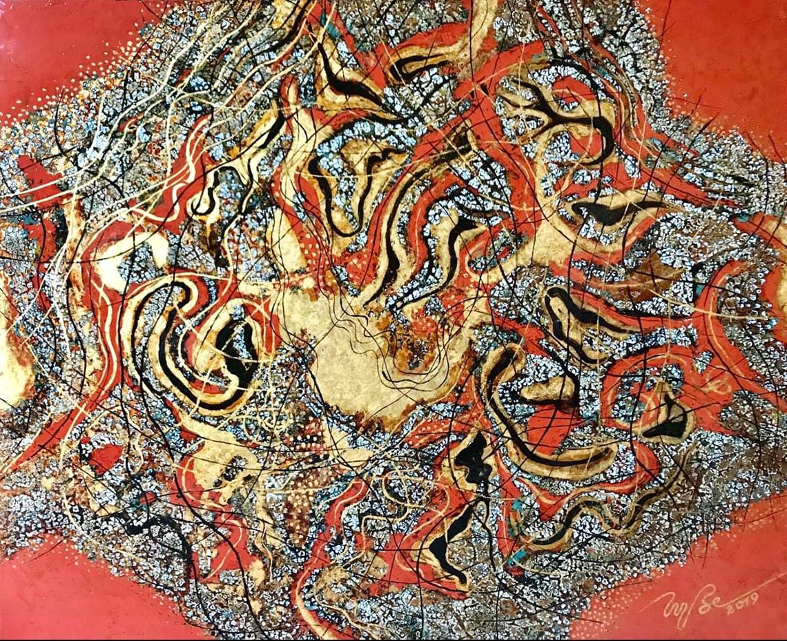 Vũ trụ hội họa của họa sĩ Trương Bé -10