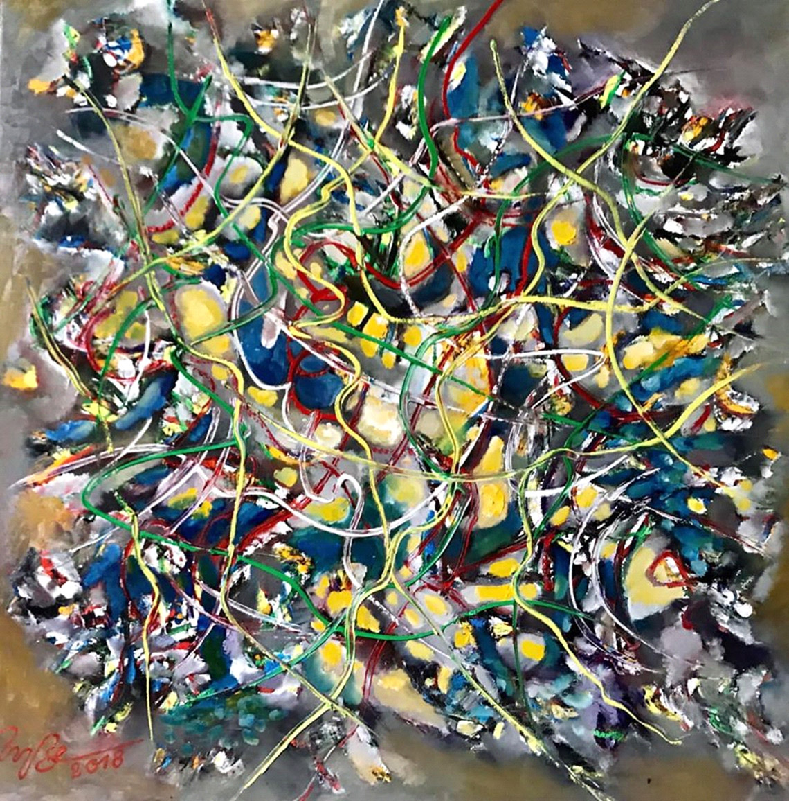 Vũ trụ hội họa của họa sĩ Trương Bé -15