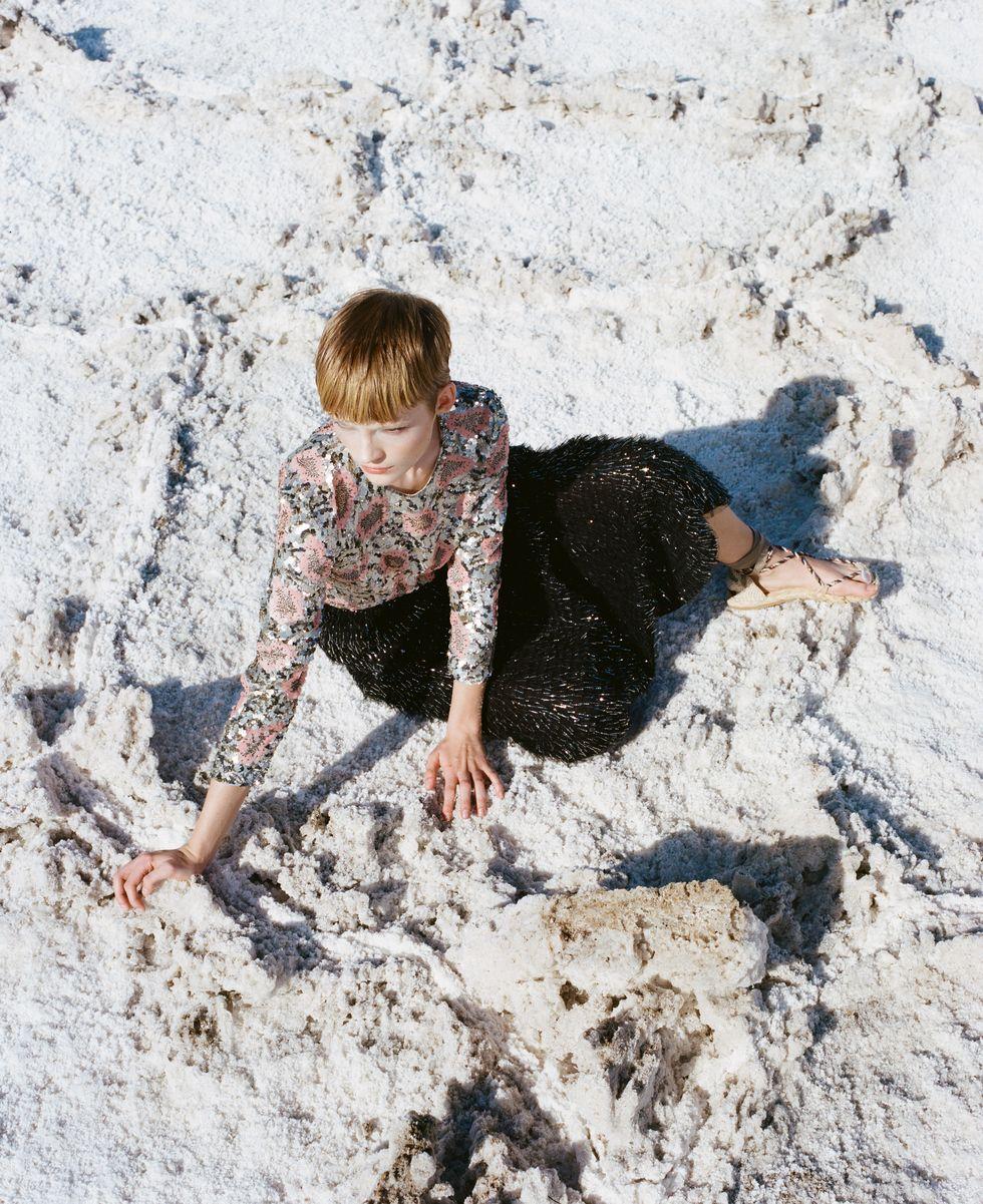 Bộ ảnh thời trang của tạp chí Elle tại Thung lũng chết - 7
