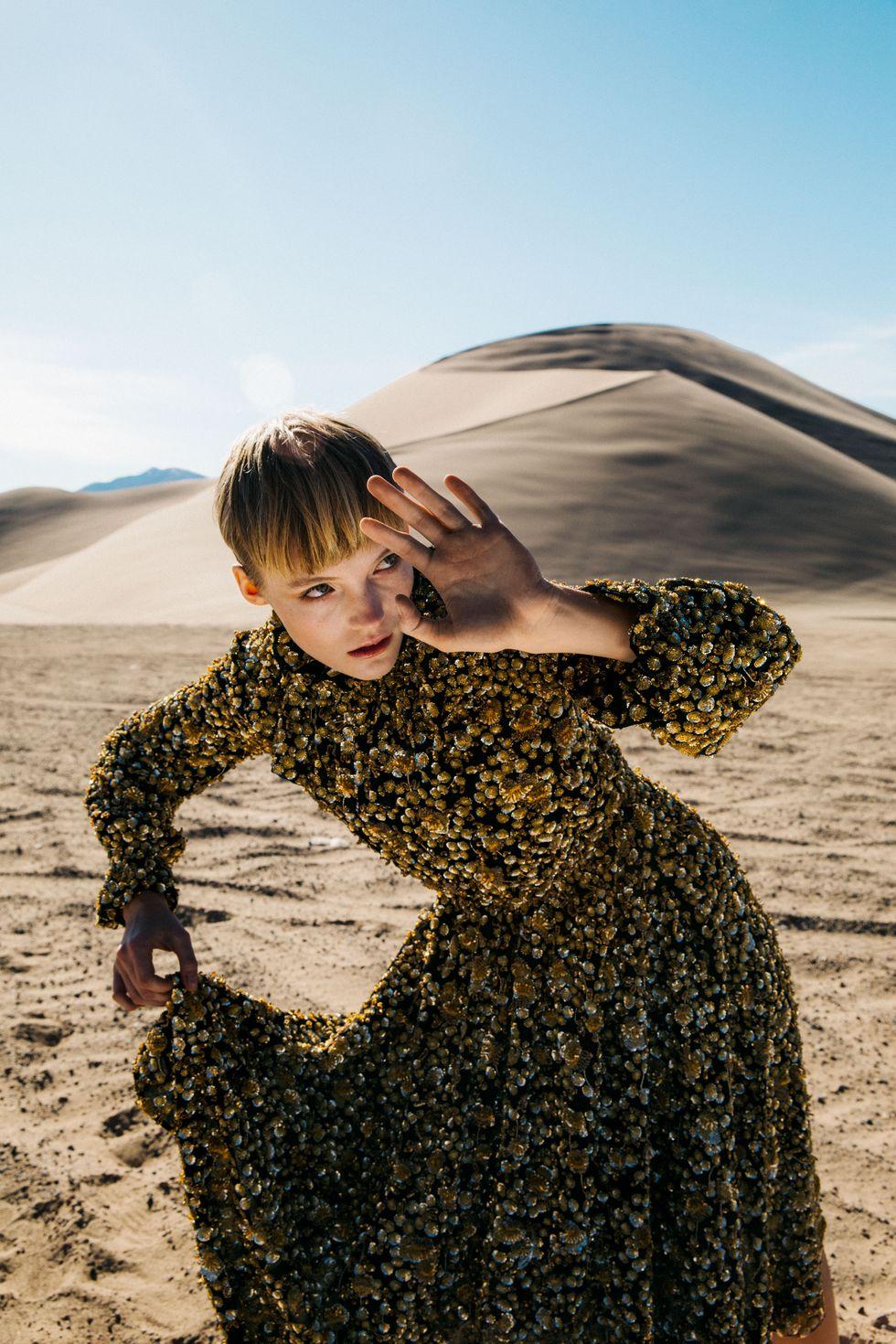 Bộ ảnh thời trang của tạp chí Elle tại Thung lũng chết 0 9