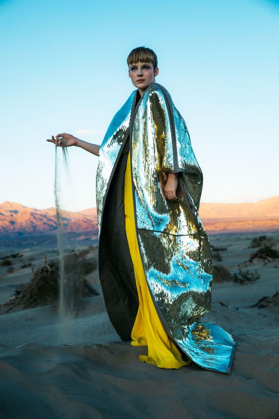 Bộ ảnh thời trang của tạp chí Elle tại Thung lũng chết - 1