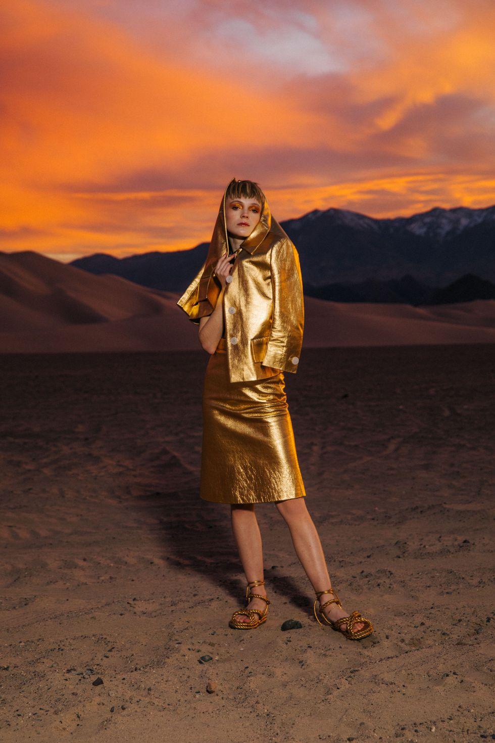 Bộ ảnh thời trang của tạp chí Elle tại Thung lũng chết - 2