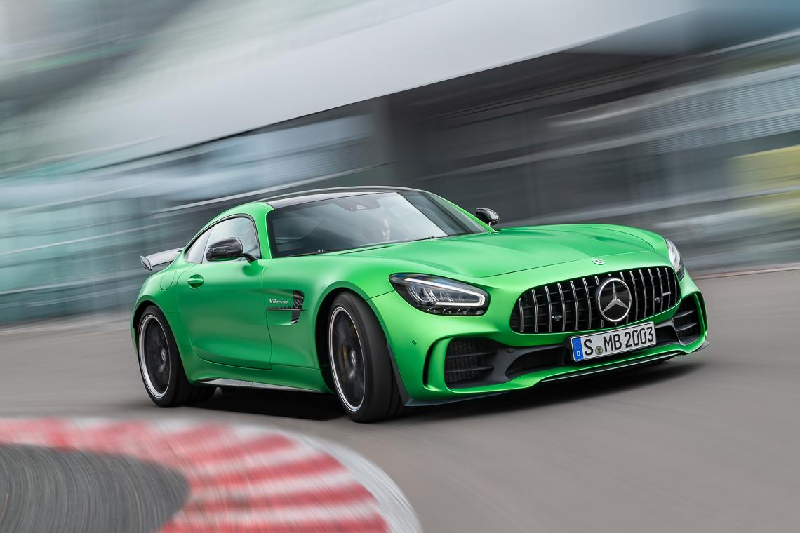 Mercedes-AMG GT R: Hội tụ tinh hoa thể thao tốc độ - 1