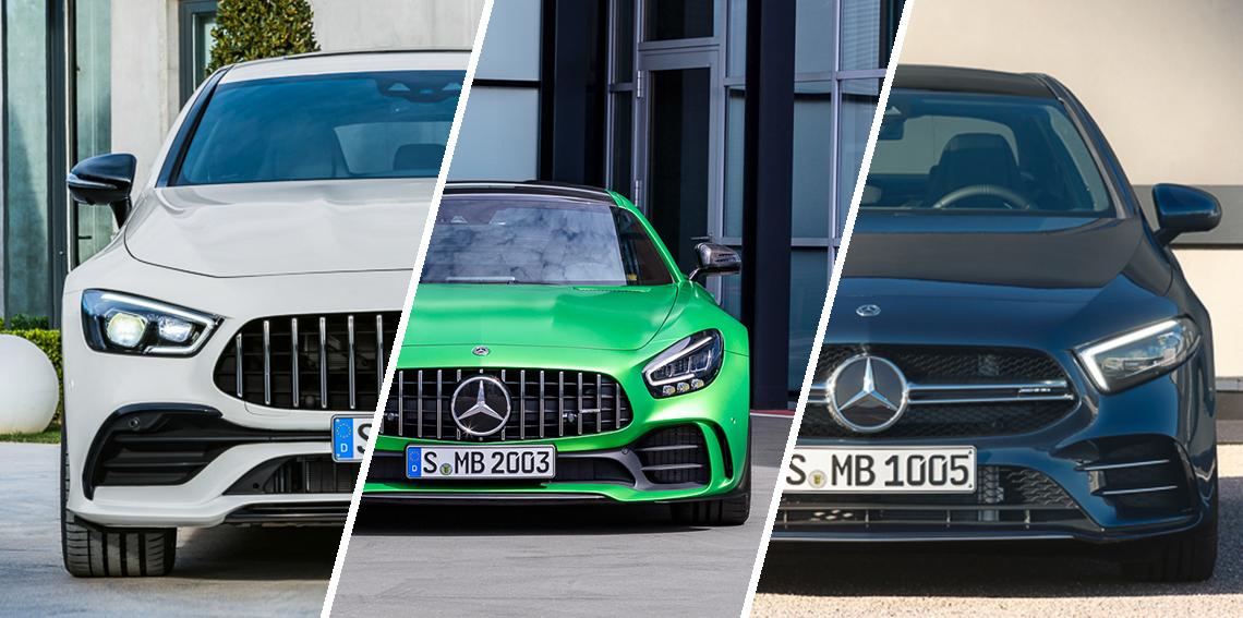 Mercedes-Benz Việt Nam ra mắt 3 mẫu xe thể thao mới AMG