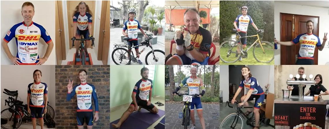 Sự kiện đạp xe trực tuyến gây quỹ hơn 27.000 USD cho trẻ em VN - 1
