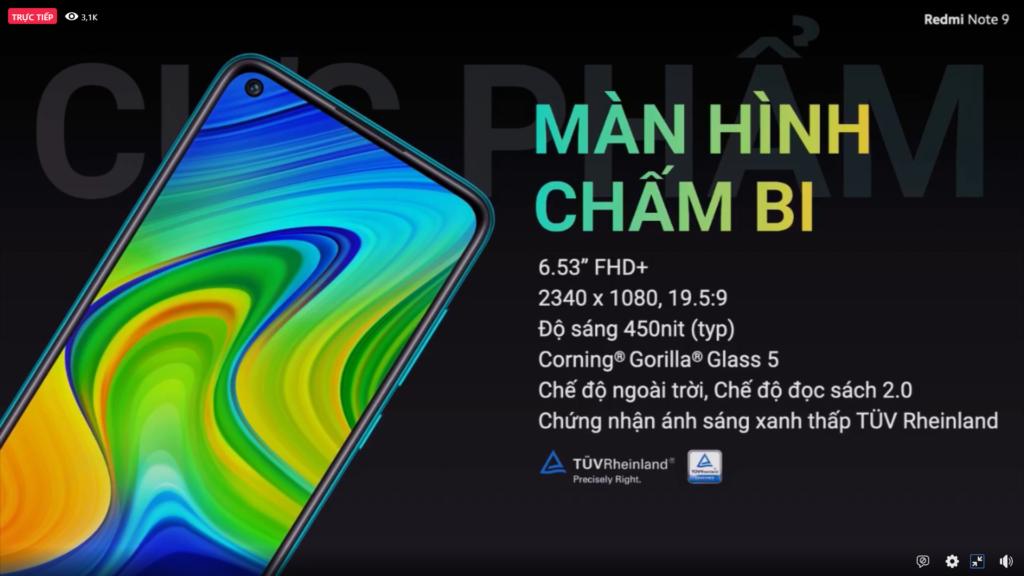 Xiaomi ra mắt bộ đôi Redmi Note 9 và Redmi Note 9 Pro - 02