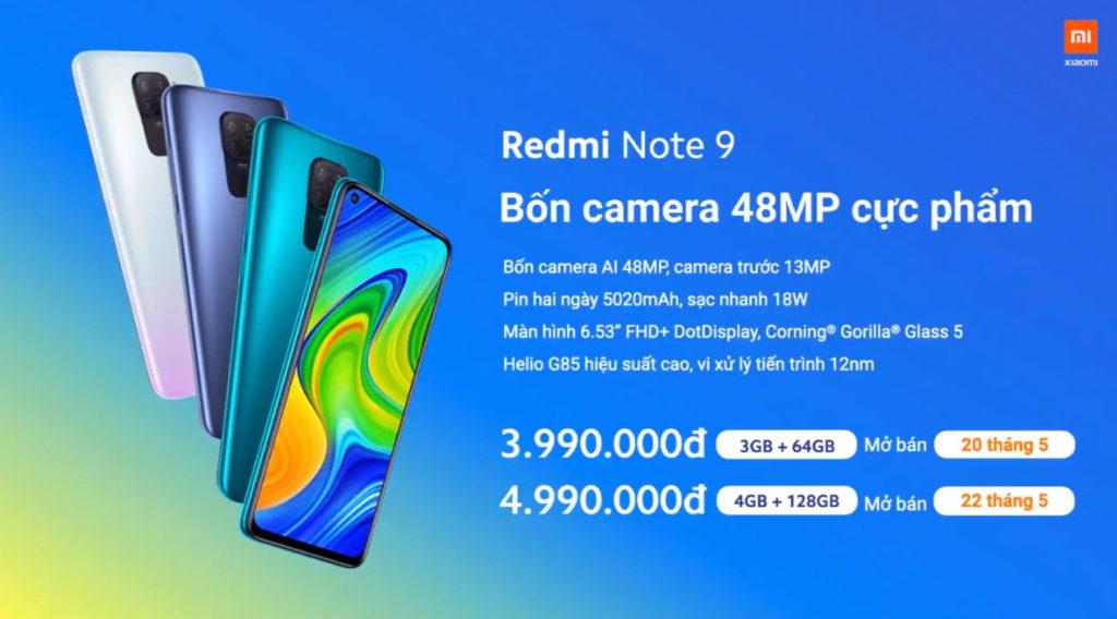 Xiaomi ra mắt bộ đôi Redmi Note 9 và Redmi Note 9 Pro - 06