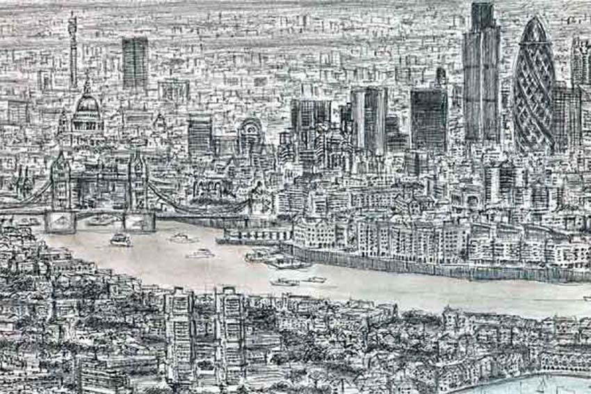 Stephen Wiltshire: Vẽ lại toàn bộ phong cảnh từng thấy qua một lần -4