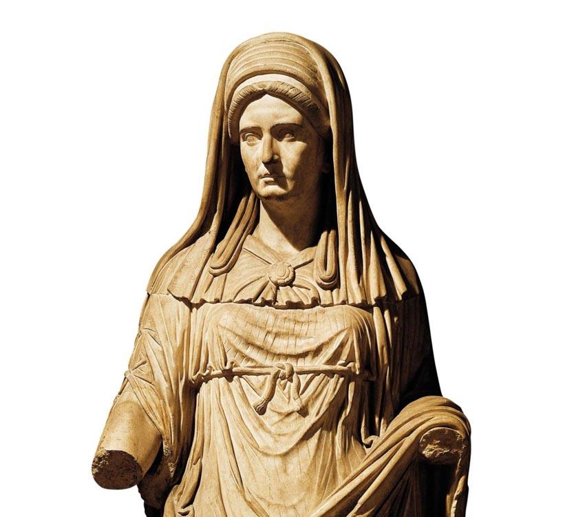Vestal Virgin: những trinh nữ quyền lực nhất La Mã cổ đại -1