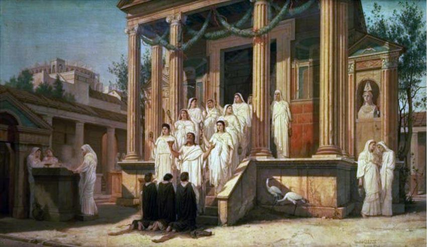 Vestal Virgin: những trinh nữ quyền lực nhất La Mã cổ đại -3