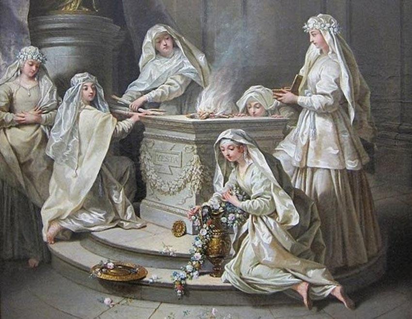 Vestal Virgin: những trinh nữ quyền lực nhất La Mã cổ đại -5