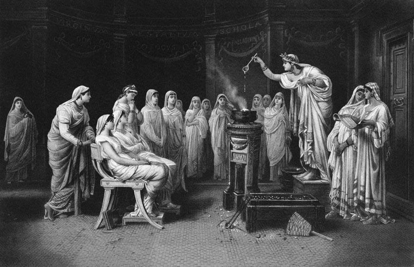 Vestal Virgin: những trinh nữ quyền lực nhất La Mã cổ đại -6