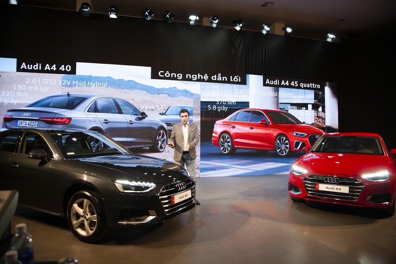 Sự kiện trực tuyến ra mắt Audi A4 và Q7 nâng cấp tại Việt Nam