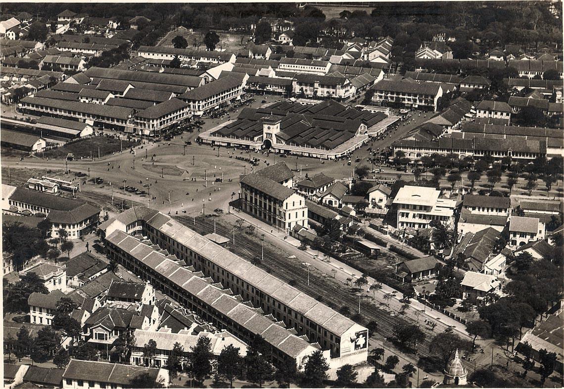 Bộ ảnh phục chế Sài Gòn 100 năm trước gây sốt vì màu xanh cây cối -8