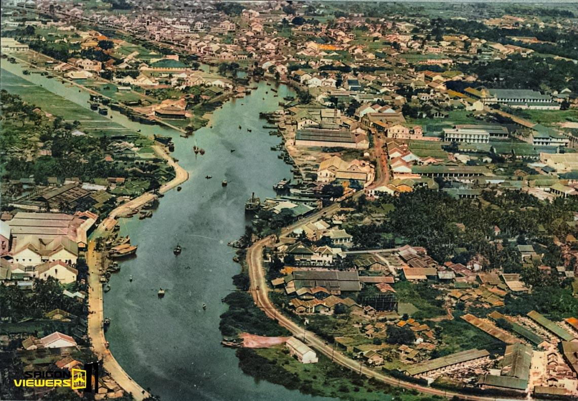 Bộ ảnh phục chế Sài Gòn 100 năm trước gây sốt vì màu xanh cây cối -9