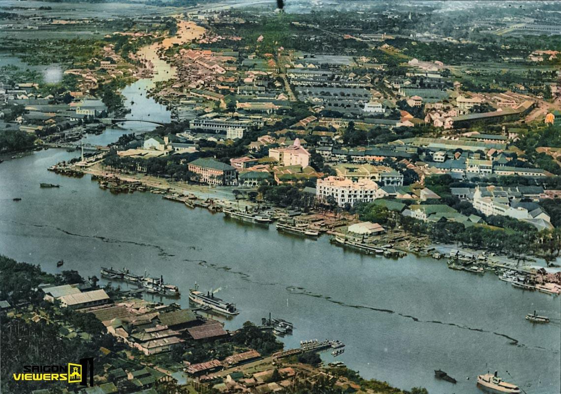 Bộ ảnh phục chế Sài Gòn 100 năm trước gây sốt vì màu xanh cây cối -11