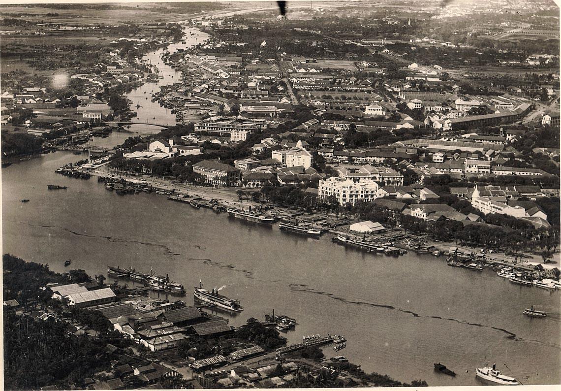 Bộ ảnh phục chế Sài Gòn 100 năm trước gây sốt vì màu xanh cây cối -12