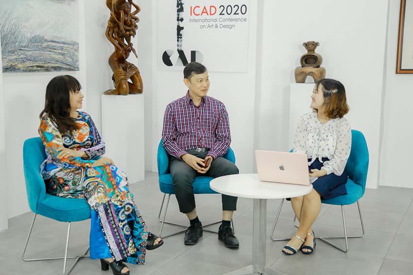 ĐH Văn Lang khai mạc 'Triển lãm thiết kế mỹ thuật quốc tế ICAD 2020'-3