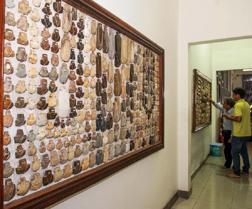 Gặp người sưu tập 10.000 đá cổ: Chứng tích người tiền sử ở Tây Nguyên -2