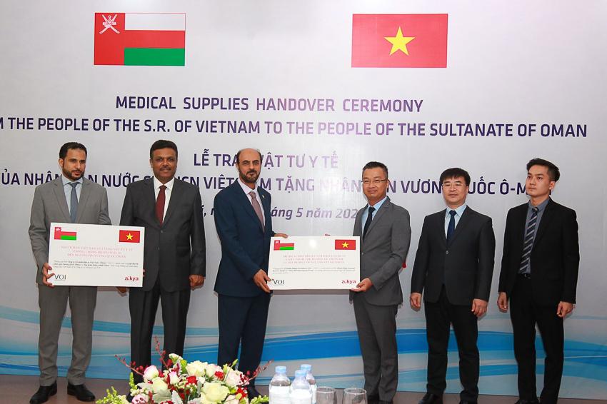 Lễ trao tặng vật tư y tế hỗ trợ Vương quốc, người dân Oman tại Hà Nội - 2