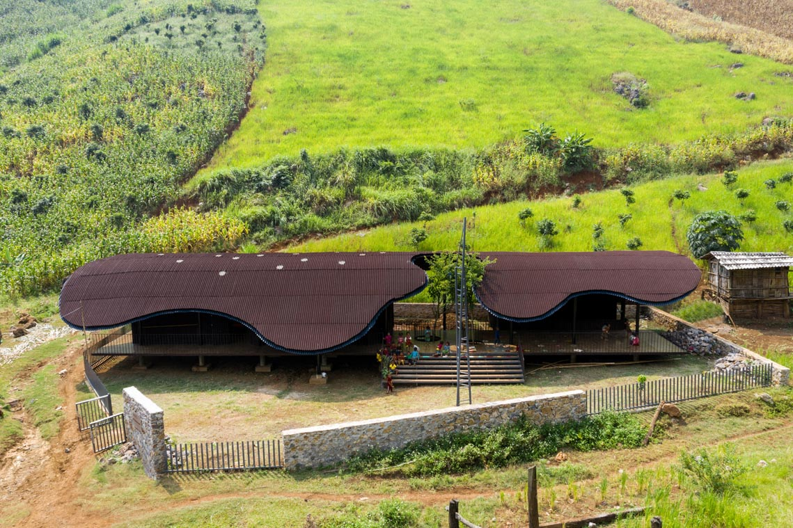 Nhà trẻ vùng cao Bó Mon vào top dự án kiến trúc thế giới mới -1