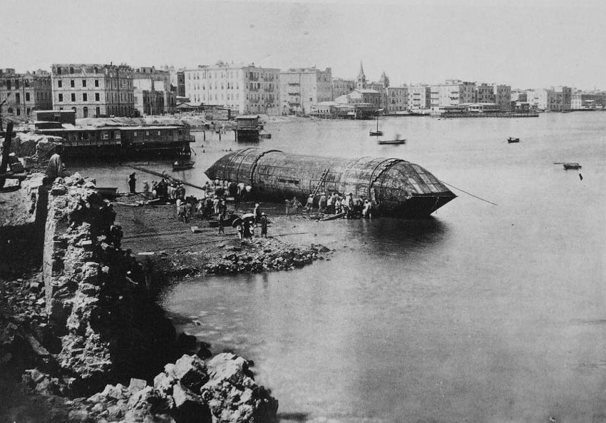Những hàng hóa lớn nhất từng được vận chuyển bằng đường biển -10