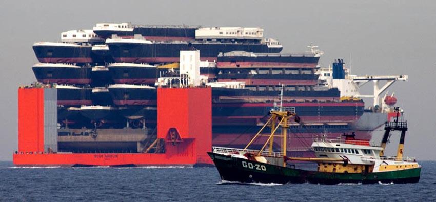 Những hàng hóa lớn nhất từng được vận chuyển bằng đường biển -17
