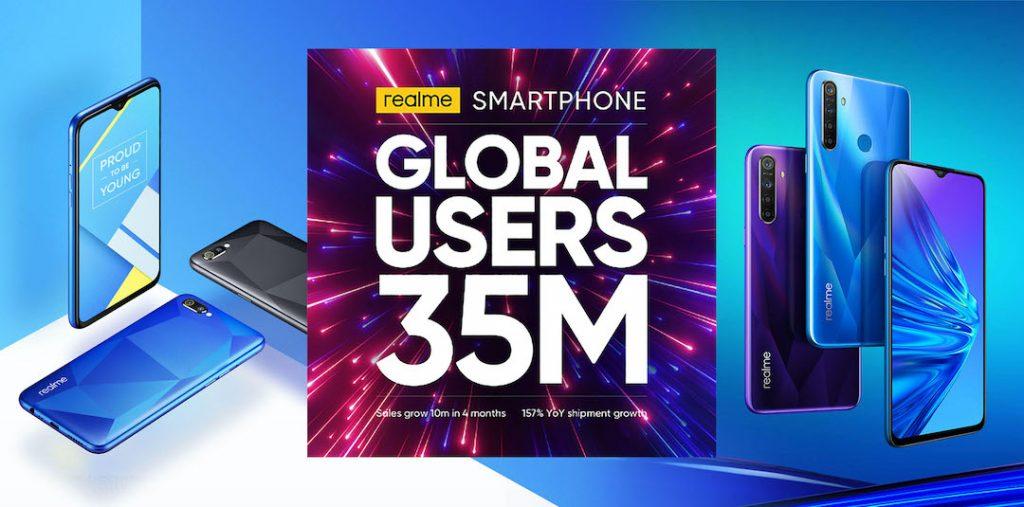Realme duy trì vị trí Top 7 thương hiệu smartphone thế giới trong 4 tháng đầu năm 2020 - 1