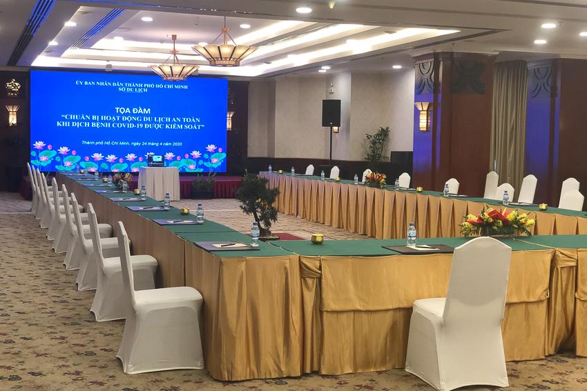 Khách sạn Rex Sài Gòn đầu tiên triển khai phương án Hội nghị trực tuyến - 1