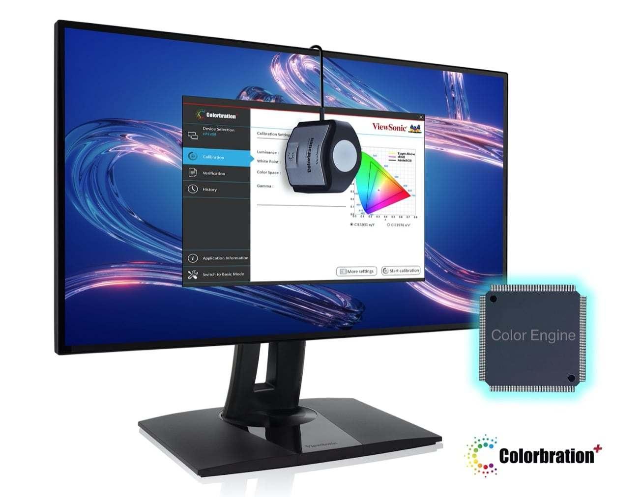 Viewsonic ra mắt màn hình VP2458 dành cho thiết kế đồ họa, giá gần 5 triệu - 1
