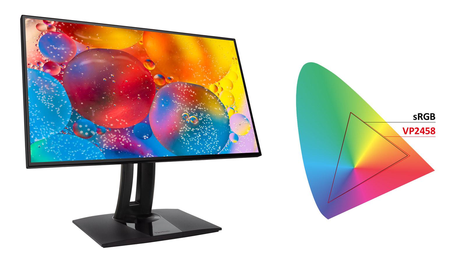 Viewsonic ra mắt màn hình VP2458 dành cho thiết kế đồ họa, giá gần 5 triệu - 4