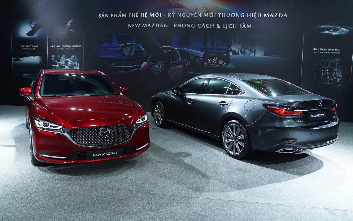 Thaco giới thiệu New Mazda6 mẫu xe sedan thuộc thế hệ – phong cách & lịch lãm-36