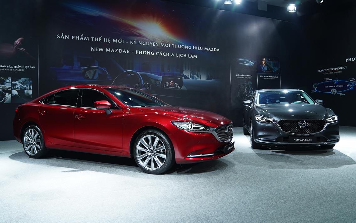 Thaco giới thiệu New Mazda6 mẫu xe sedan thuộc thế hệ – phong cách & lịch lãm-37