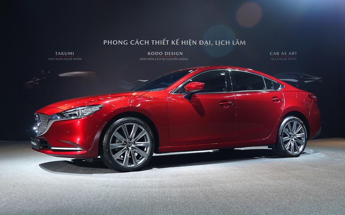 Thaco giới thiệu New Mazda6 mẫu xe sedan thuộc thế hệ – phong cách & lịch lãm - 4