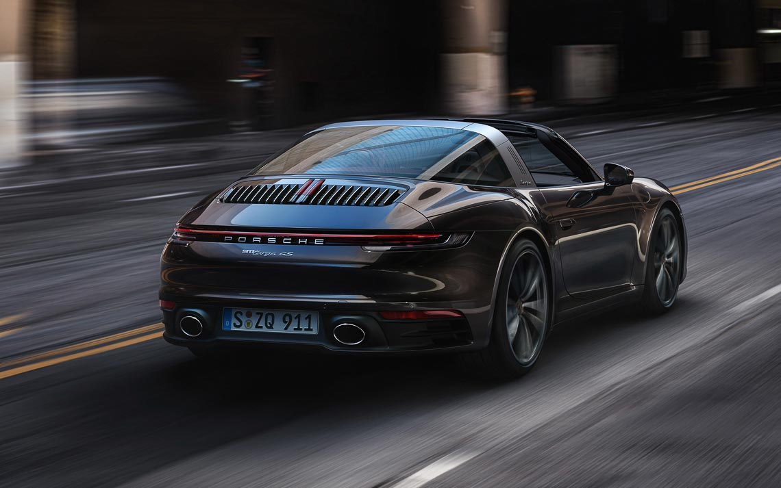 Porsche 911 Targa mới - Biểu tượng phong cách của dòng xe 911 bước vào thế hệ thứ 8 - 1